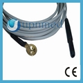 Cup EEG electrodes and cord