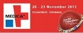 2013 The Medica  on Nov 20- 23th  at Dusseldorf,  Germany