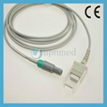 New tech spo2 adapter cable, 5pin
