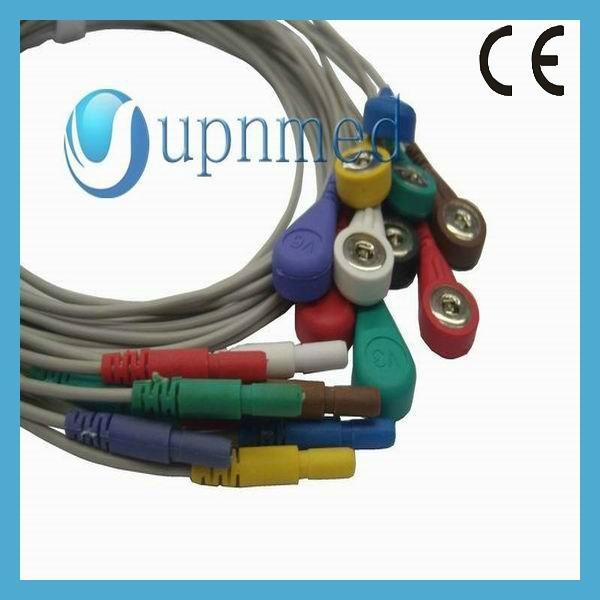 Holter 10 lead Ecg cable
