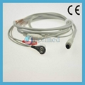 MEK 3-lead ECG Cable with leadwires