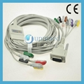 Edan EKG cable with lead wires