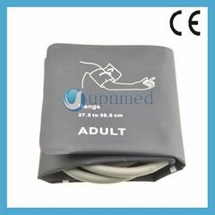 No-Bladder adult single tube NIBP cuff