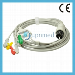 Universal One piece 5-lead ECG Cable with leadwires (Hot Product - 1*)