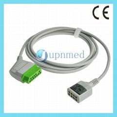 Nihon Kohden  6-lead ECG Trunk Cable