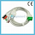 2021141-001 GE-Marquette ecg cable with