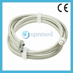 Ohmeda Neonatal Blood Pressure cuff air hose tube, two tube