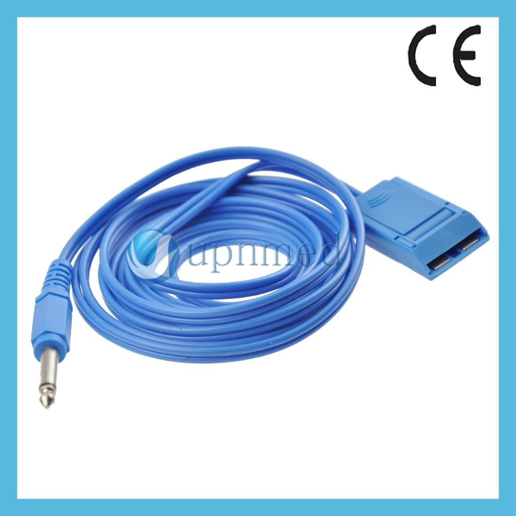 Patient return Plate cable diathermy cable