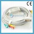 Cardiette 10 lead patient ekg cable with