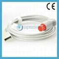 Datex Utah Transducer Adapter IBP Cable