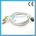 Nihon Kohden OEC-6102A ECG cable with