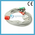 Bionet BM5 ECG Cable with leadwires