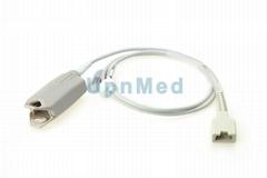 Novametrix 512 handheld pulse oximeter spo2 sensor , 6pins