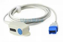 Spacelabs 91220 pulse oximeter Spo2 sensor,10pin