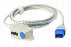 Spacelabs pulse oximeter Spo2 sensor,10pin