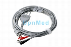 Colin BP88S ECG cable with leadwires