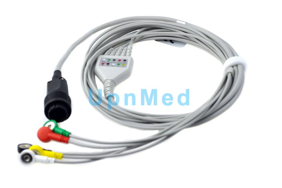 heyer ecg cable with lead wires  china manufacturer