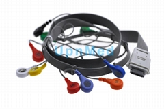 Edan Holter ECG 10 lead  wires set