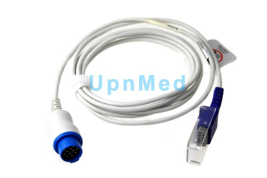 Schiller Argus LSM Spo2 Extension Cable Oximax tech