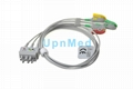 BR-019P Nihon Kohden 3 lead ECG wires