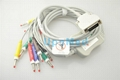 Mortara one-piece 10 lead EKG cable with