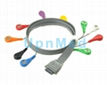 BI9800 ecg cable Holter lead