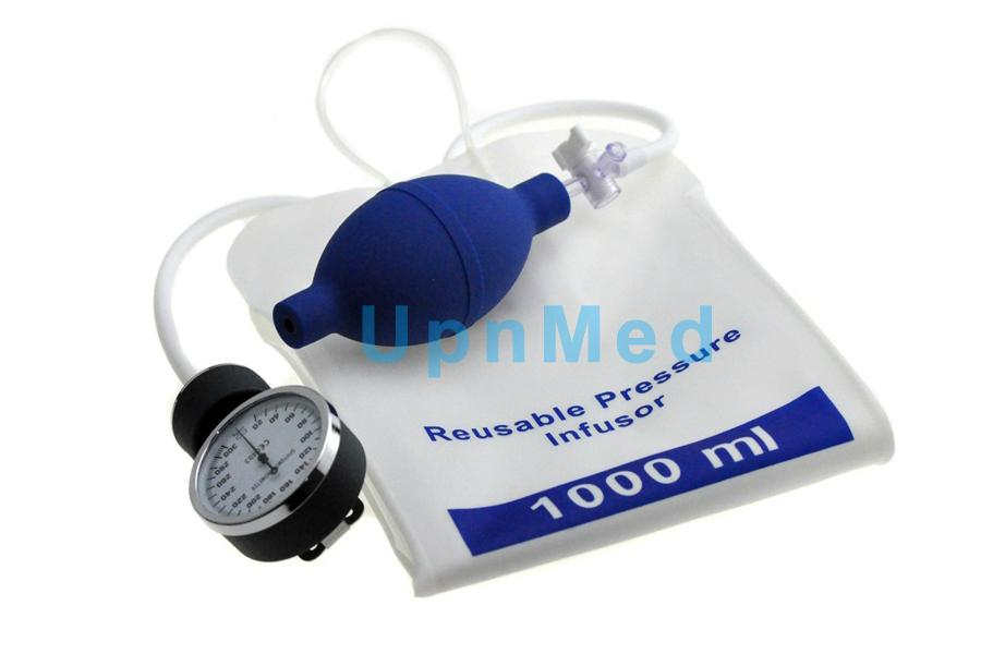 Reusable Pressure Infusion bag, 500ml/1000ml