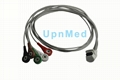Mortara H3+ Holter ECG 5 Lead cable