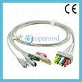 545316 Datex Ohmeda ECG 5 lead set,wires