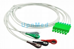 Siemens MS16231 MS16546 MS16547 Drager ECG cable 5 lead wires