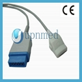 GE masimo Marquette spo2 adapter cable