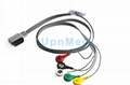 Philips digitrak XT holter 5 lead ecg cable