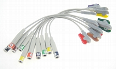 ECG Electrode Adapter cable wire