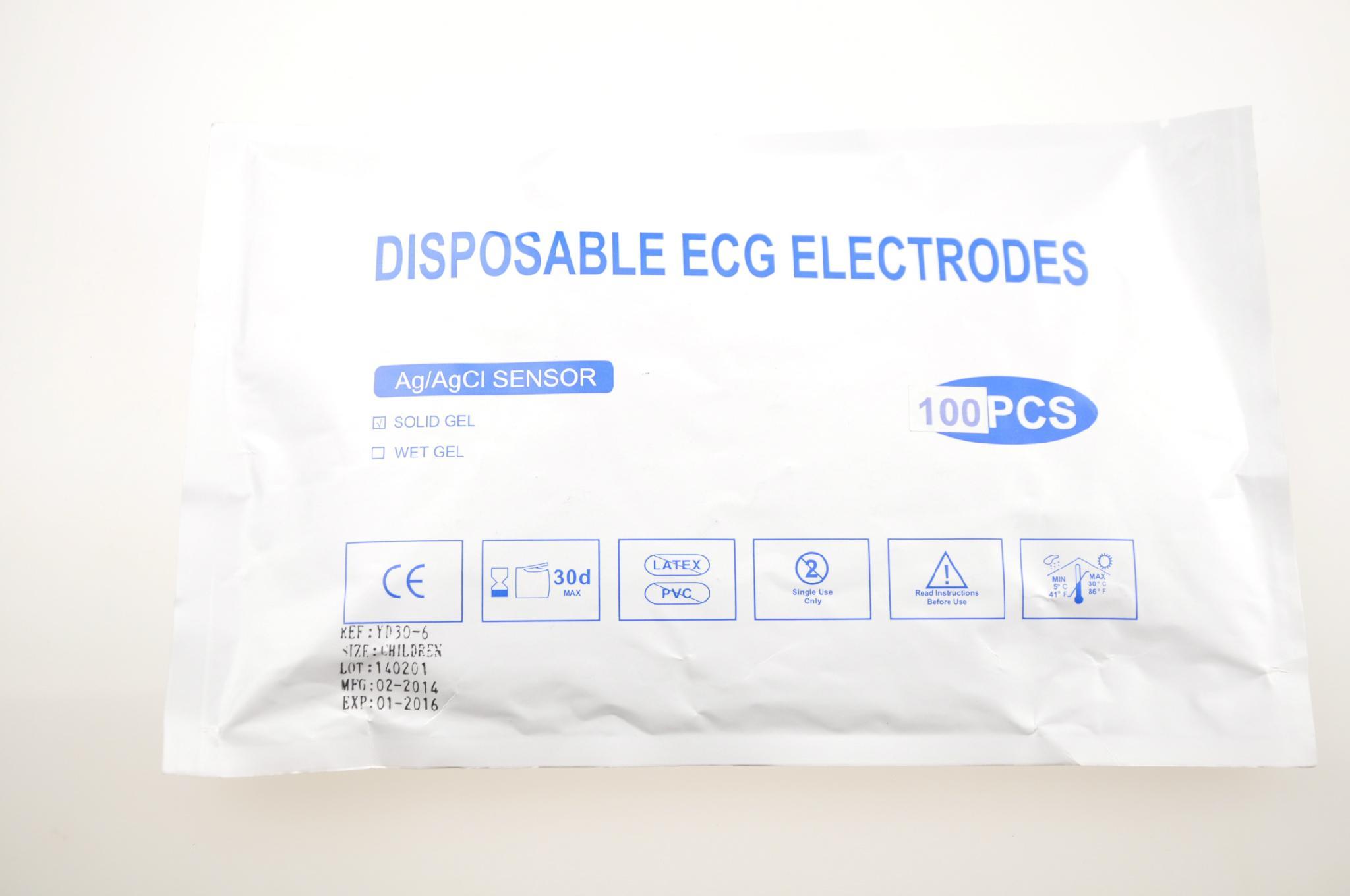 Disposable pediatric ECG Electrodes 1