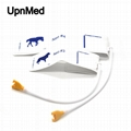 Philips M1870B/1872B Disposable size 3/4 cuff  with connector for animals