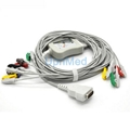 GE-Marquette one-piece 10 lead EKG cable with leadwires