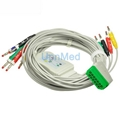 BJ-900P Nihon Kohden 10 lead EKG cable with leadwires