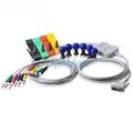 Edan SE-3/SE-601B 10 lead ekg cable wth lead wires, 15pins  3