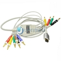 HDMI 10 lead EKG Cable with lead wires