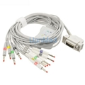 Siemens Hellige​ one-piece 10 lead EKG cable with leadwires