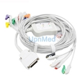 Mortara one-piece 10 lead EKG cable with leadwires