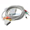 Fukuda ME 10 lead EKG cable with leadwires