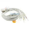 Kenz PC-109 10 Lead EKG Cable with leadwires