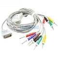 ShangHai Kohden 10 lead EKG cable with leadwires