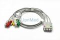 412682-001 GE 3 lead Clip ECG lead wire