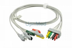 545316 Datex Ohmeda ECG 5 lead set,wires, clip,412681-001