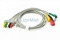 545316 Datex Ohmeda ECG 5 lead set,wires, clip,412681-001