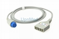 Datex 5 lead ECG trunk cable