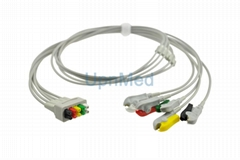 GE 5 lead ECG lead wires set