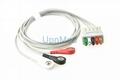 GE 5 lead ECG lead wires set